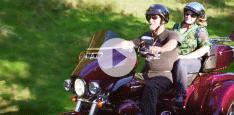 Dick from West Virginia hauls his trike motorcycle