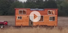 Jeremy from Oregon tows tiny homes