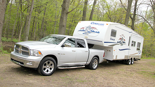 half-ton-dodge-towing-rv