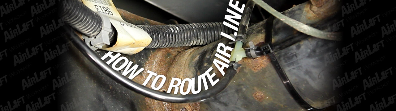 How To Route Air Line