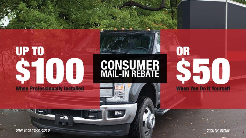 Consumer Mail-in Rebate