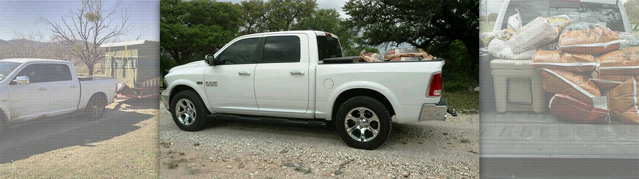 Roy Levels up His Ram 1500 in Texas