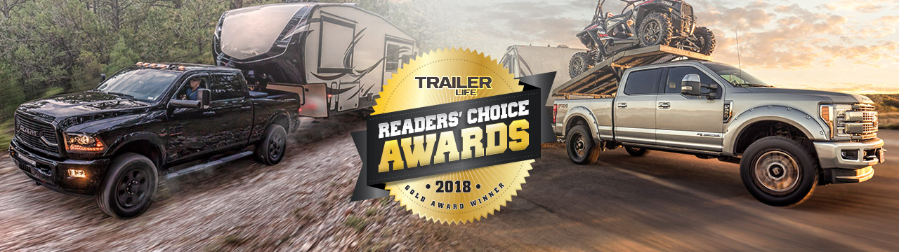 Air Lift Company Wins Gold Award in Trailer Life Magazine Readers' Choice Awards